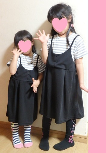 しまむら2017子供服ワンピ詳細