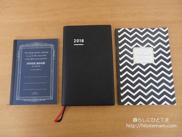 ジブン手帳と規格ノート