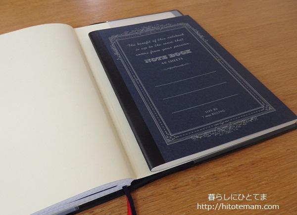 ジブン手帳とB6ノート