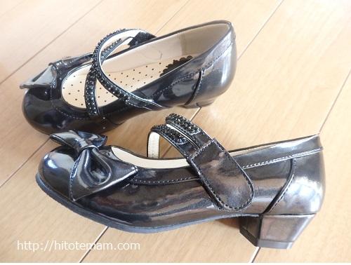 入学式用の靴詳細